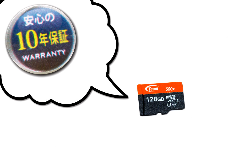 Team microSDカード オレンジLine(128GB