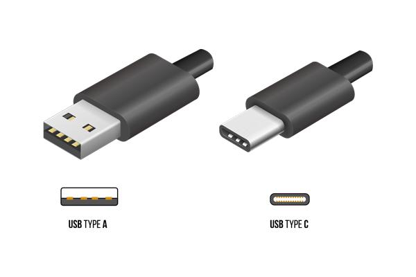 USB Type-Cの形状 Type-Aとの違い
