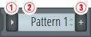 FL STUDIO パターンパネル
