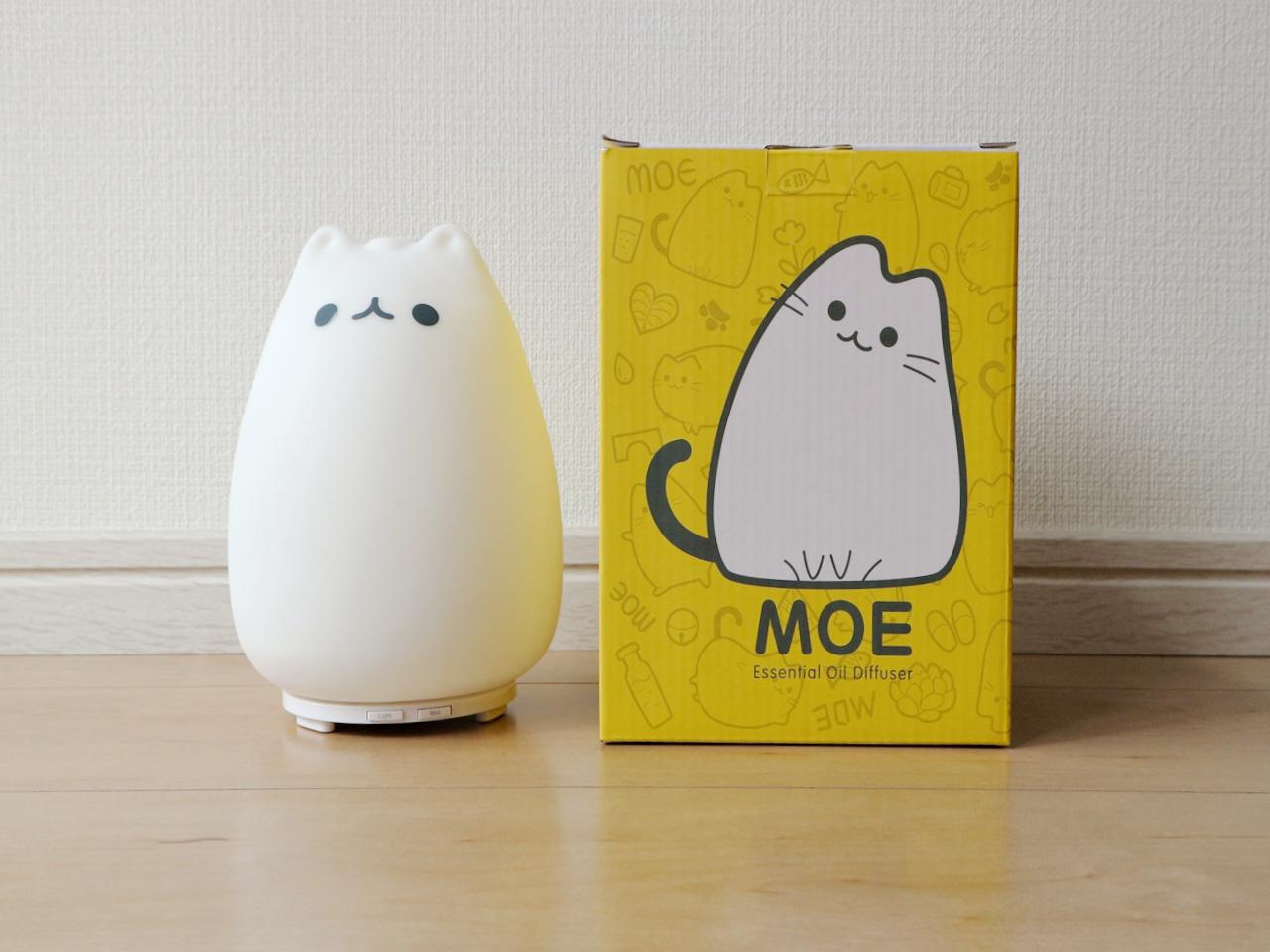 箱に描かれた猫のイラストも可愛い!本体も、写真そのもの