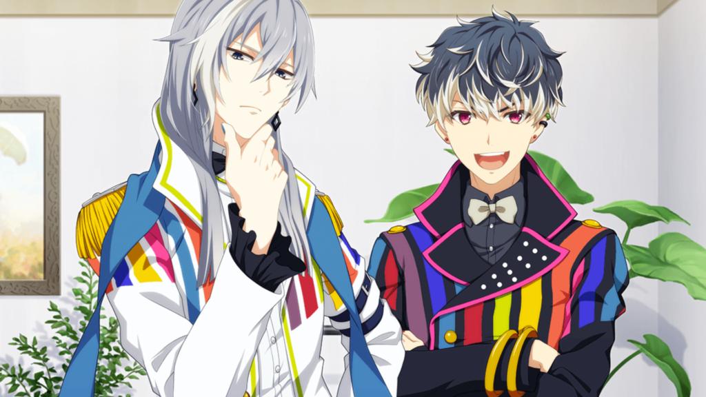 Re:vale 左:クールな千(ユキ) と、右:人懐っこい百(モモ)