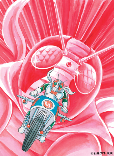 仮面ライダーV3/仮面ライダーX 『完全版』イメージ