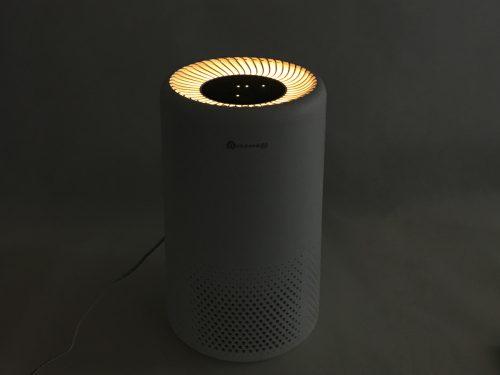 Dreamegg 『CF-8010』のLEDライトは暖色系のやさしい光