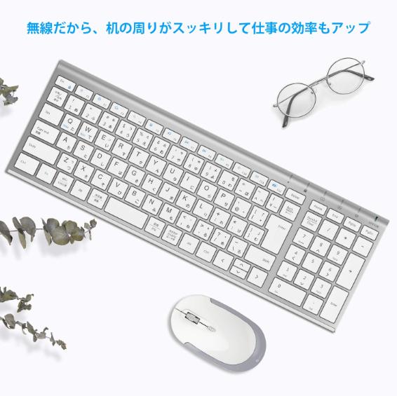 無線タイプのキーボード&マウス