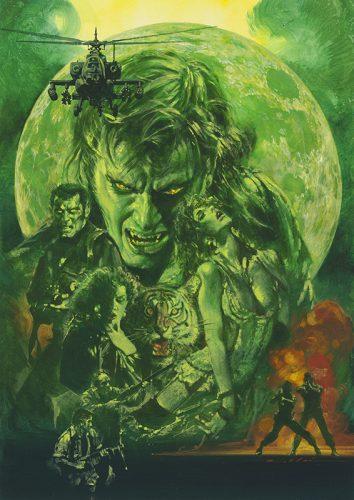生賴範義画集 〈狼男達〉  イメージ3