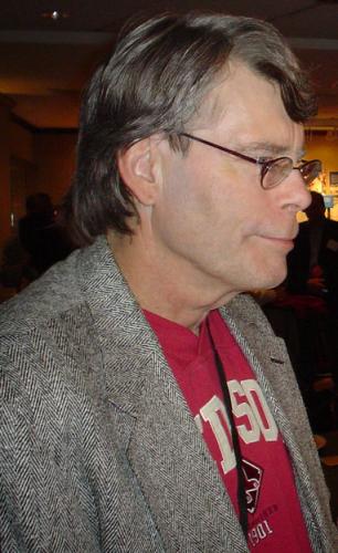 原作者 スティーブン・キング (写真 Michael Femia  CC 表示-継承 3.0 )