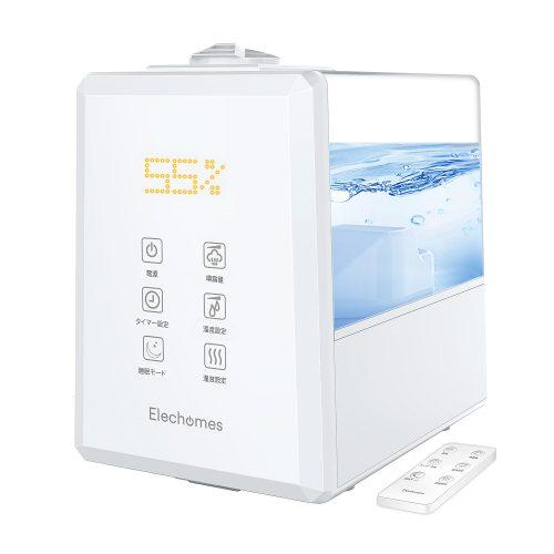 Elechomesハイブリッド加湿器  JC5502   自動湿度制御機能 で快適な湿度を維持