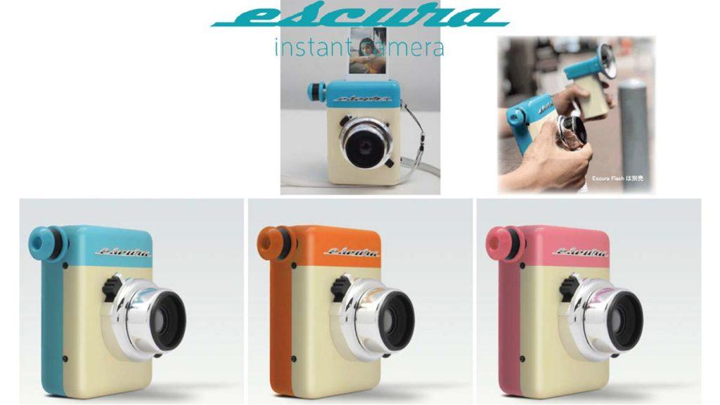 60年代ビンテージ風インスタントカメラ『Escura instant 60s』は完全手動で電源不要