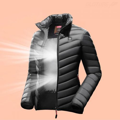 Humbgoダウンジャケット 内部背面の特殊加工は、空気の流入・流出を防ぐ