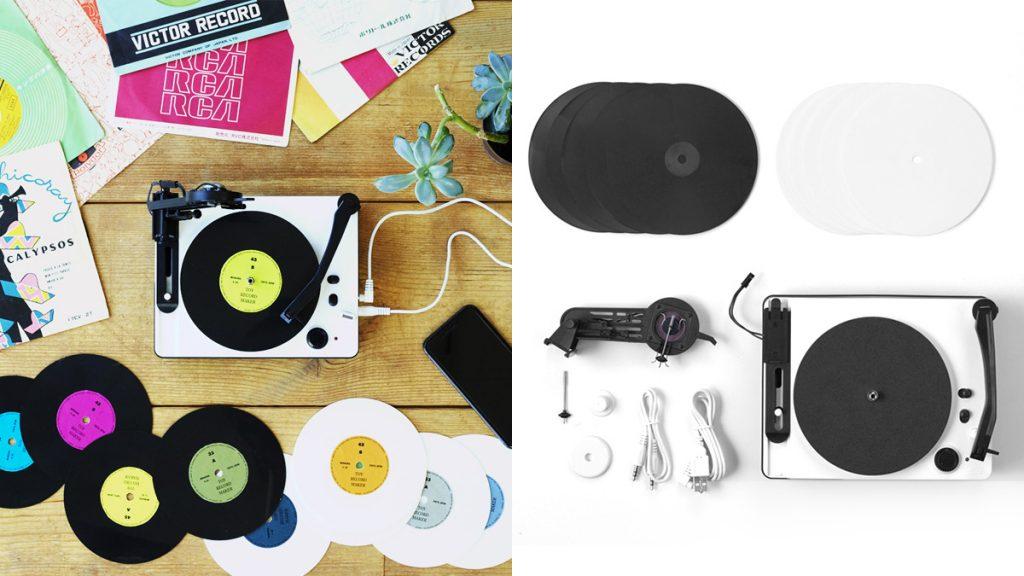 1万円代でレコード自作カッティングを楽しめる大人の科学マガジン『トイ・レコードメーカー』登場