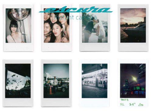 『Escura instant 60s』でデジタルでは出せない質感を