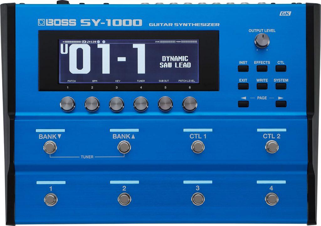 『SY-1000』トップパネル拡大