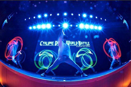 サイリウムダンスの世界大会