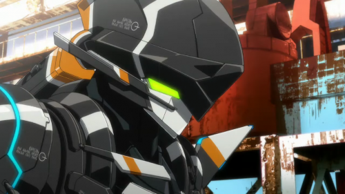 翠星のガルガンティア 主人公が登場する人型戦闘機 チェインバー