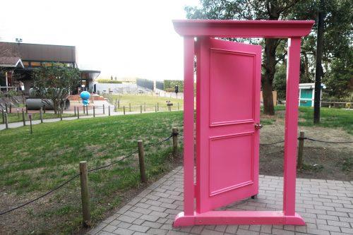 『どこでもドア』と写真も撮れる!