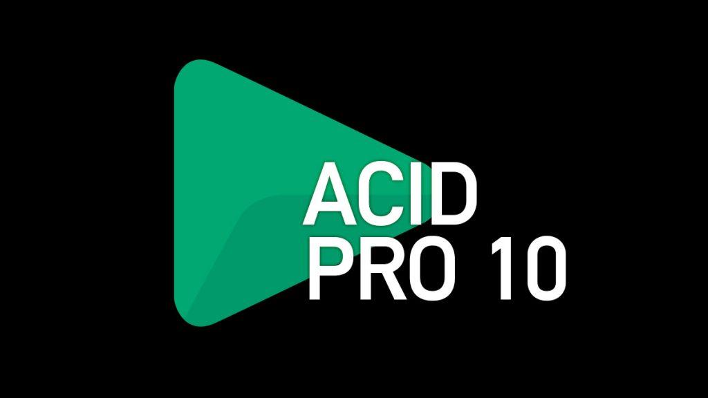 DTM シーケンサー型DAW『ACID』最新版発売『バージョン 10』発売