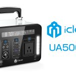 iClever 屋外で家電品を使える純正弦波AC出力 ポータブル電源『UA500-01』を発売
