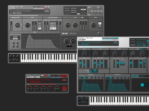 今後追加予定の音源『Model Expansions』シリーズのイメージ