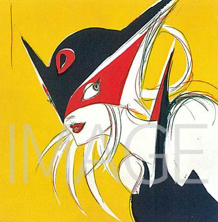 『天野喜孝 Art History』収録 DORONJO