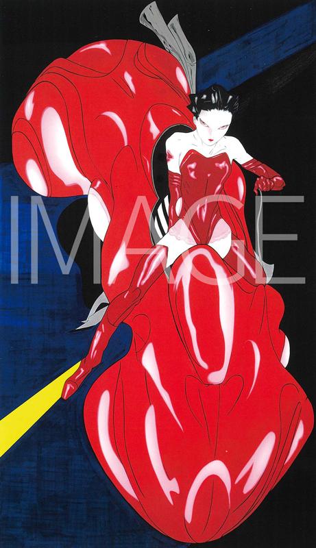 『天野喜孝 Art History』収録 Candy Rider M-1