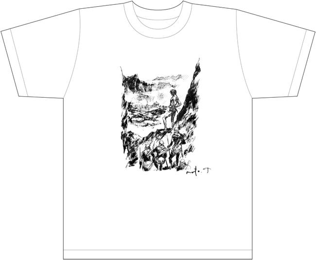 武部本一郎 オリジナルTシャツ WARRIOR ver.