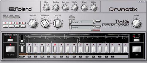 『TR-606 ソフトウェア・リズム・コンポーザー』の画面イメージ2