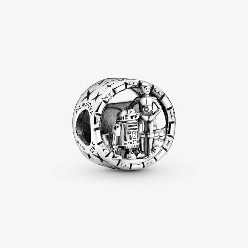 C-3PO and R2-D2 Openwork Charm