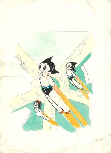 ウランちゃん&コバルト登場のオリジナル原寸大複製カード