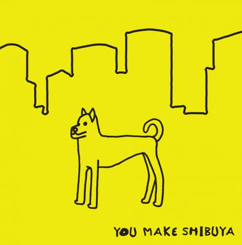 シブヤフォント×SHIBUKURO ハチブラ
