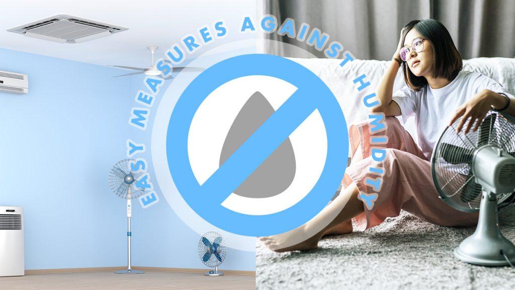 手軽で簡単にできる除湿方法11選。 梅雨・夏のジメジメ対策で快適に