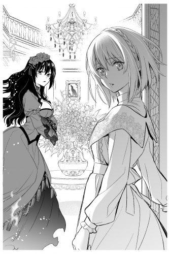 希代の悪女スカーレット(左)と子爵令嬢コニー