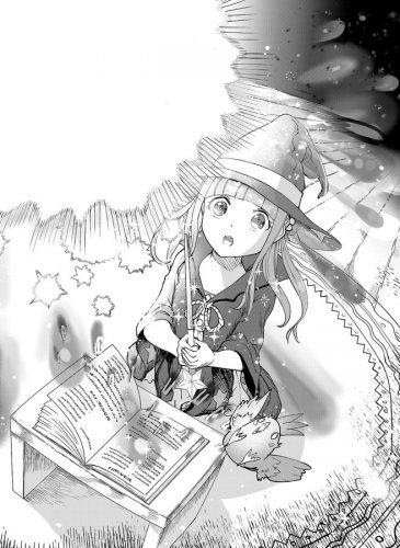 魔法練習中のラビ