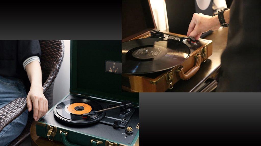 レトロモダンなレコードプレーヤー『1900mini』発売 USB接続で再生しながらPCに録音可能