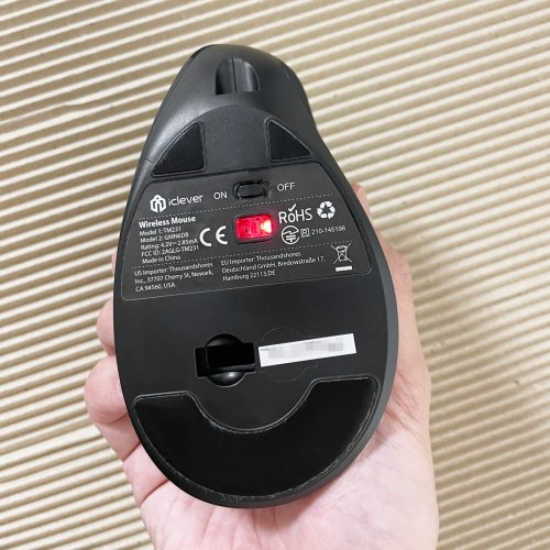 iClevr TM231Gの底面
