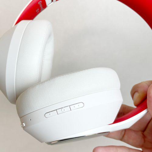 『SUPEREQ S1』Bluetooth接続時に動作する、楽曲の再生制御ボタン