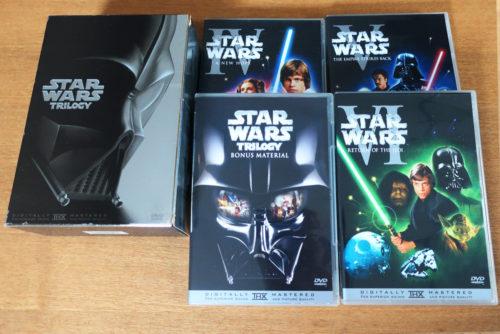 スターウォーズ『トリロジー DVD-BOX』