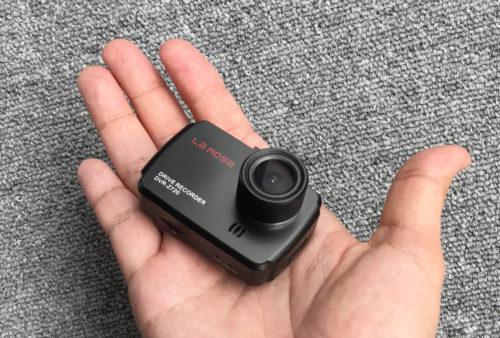 手のひらサイズ コンパクトなサイズの LaROSE 『DVR-Z720』
