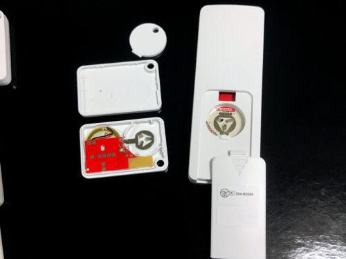 E-SKY キーファインダー KF06A 電池はCR2032