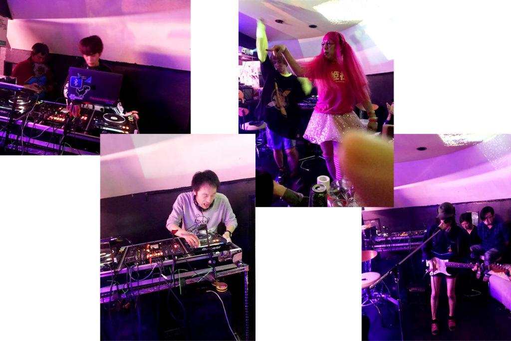 DJ、クリエイター、アーティストなど様々な出演者