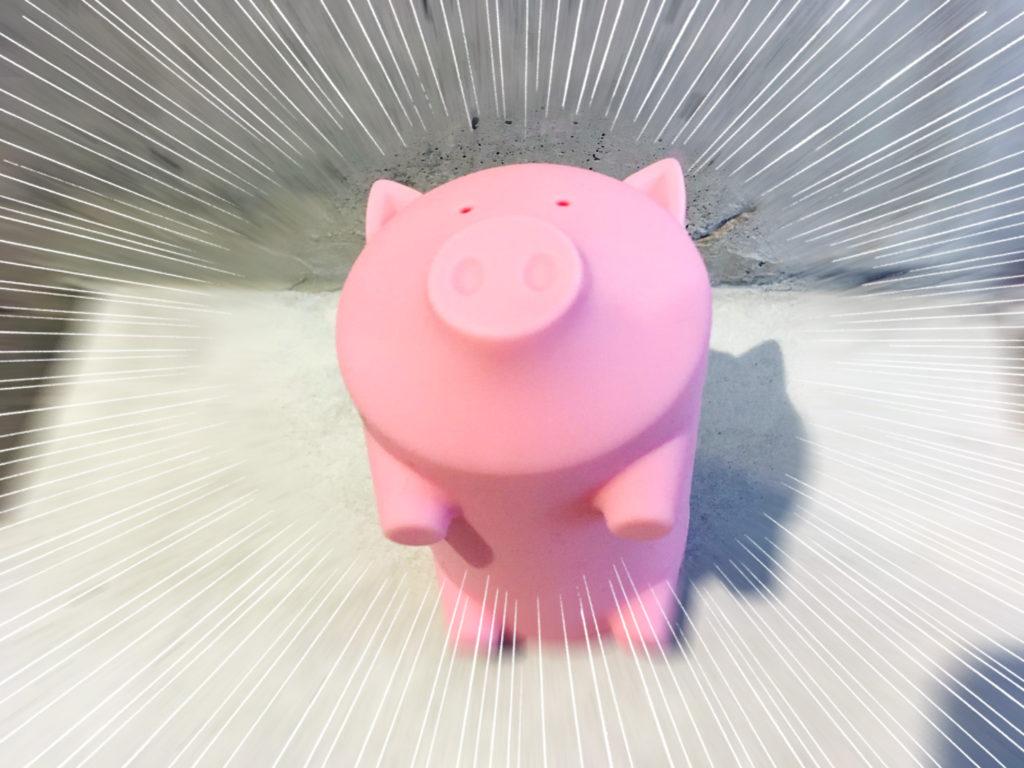 豚型 USBハブ カードリーダー !出てきた!(笑)