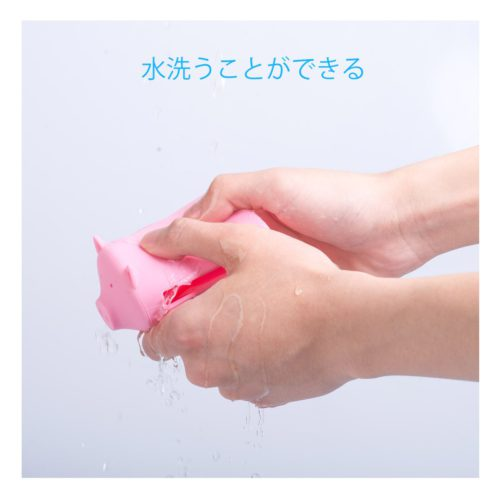 『ORICO 豚型 USB HUB』公式画像×『水洗うことができる』  ○『水洗いする事ができる』