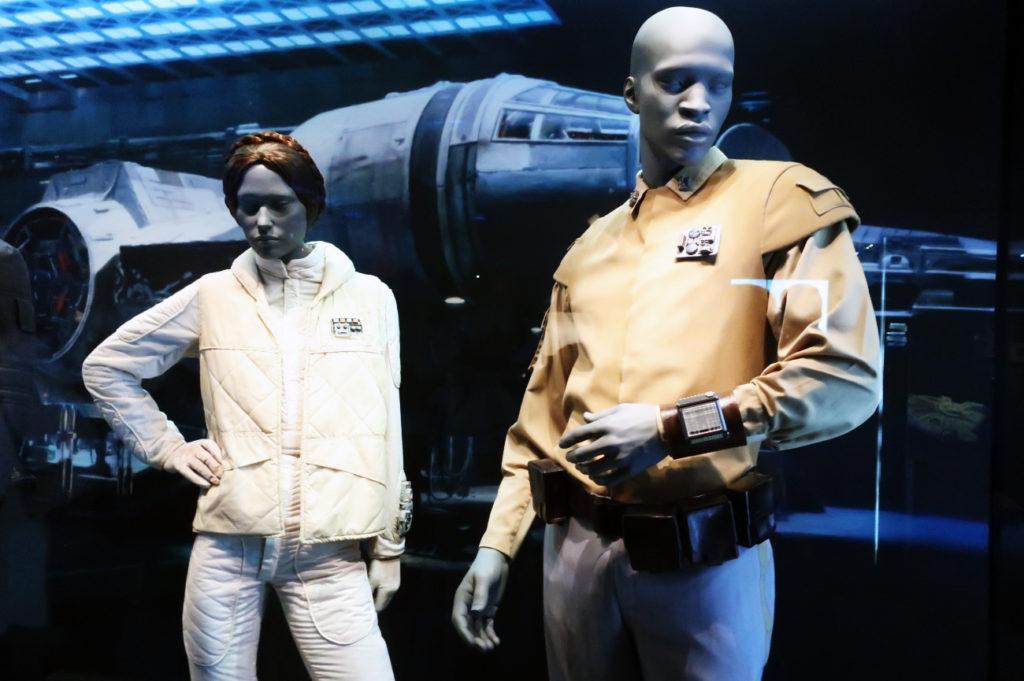 『スターウォーズアイデンティティーズ ザ・エキシビション』 エピソード5帝国の逆襲で使用された衣装