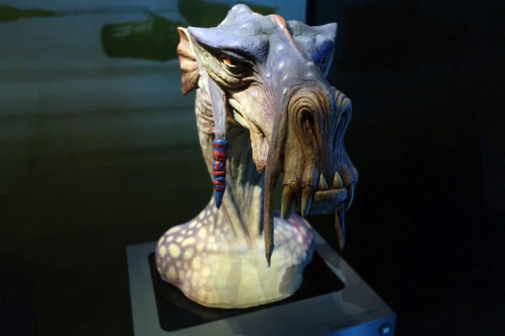 『スターウォーズアイデンティティーズ ザ・エキシビション』 エピソード1ファントム・メナスに登場したキャラクター、セブルバ。